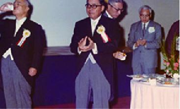 昭和48年 日本ベニア創業50周年記念式典