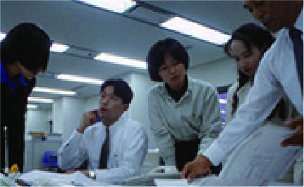 平成5年 当時の日本ベニア本社風景